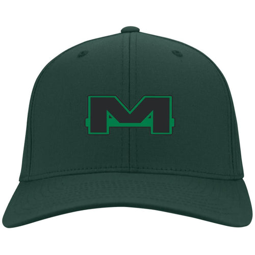 MOAB Motorsports embroidered C813 Port Authority Fullback Flex Fit Twill Baseball Cap