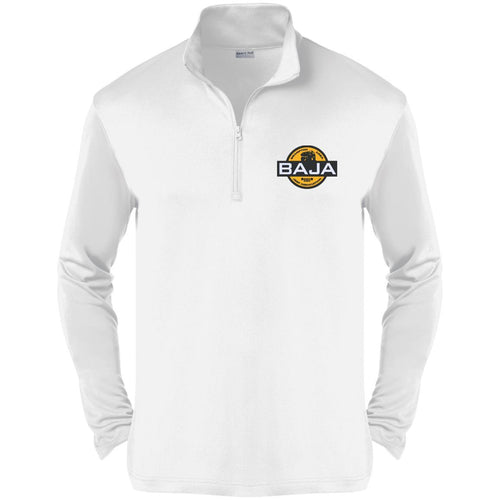 BAJA embroidered logo ST357 Sport-Tek Competitor 1/4-Zip Pullover