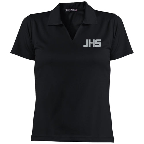 JHS silver embroidered logo L469 Sport-Tek Ladies' Dri-Mesh Short Sleeve Polo