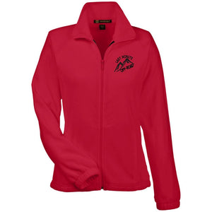 Last Minute Offroad embroidered M990W Harriton Women's Fleece Jacket