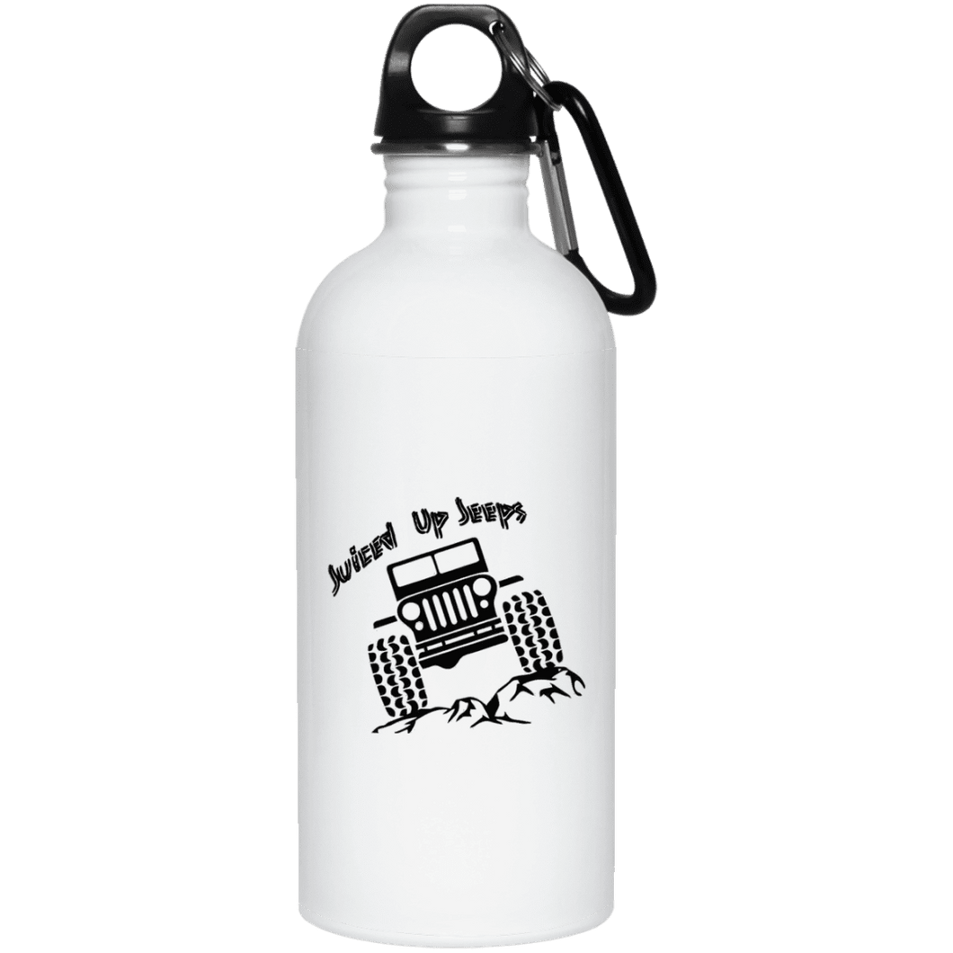 Juiced Up Jeeps 23663 20 oz. Stainless Steel Water Bottle