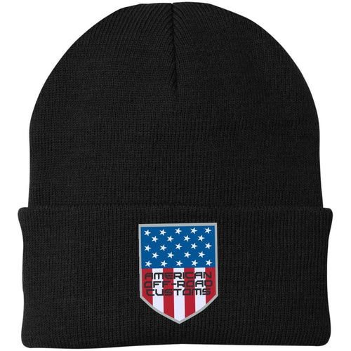 American Off-Road embroidered logo CP90 Port Authority Knit Cap
