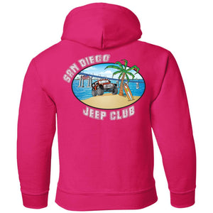 SDJC 2-sided print G185B Gildan Youth Pullover Hoodie