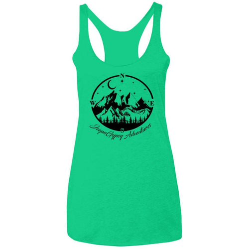 JeepnGypsy compass NL6733 Ladies' Triblend Racerback Tank