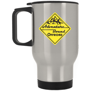 Adventure Bound Offroad XP8400S Silver Stainless Travel Mug