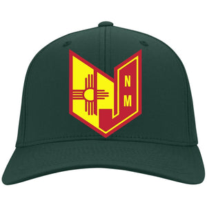 Wicked Jeeps NM embroidery C813 Port Authority Flex Fit Twill Fullback Baseball Cap