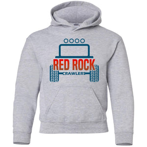 Red Rock Crawlers G185B Gildan Youth Pullover Hoodie