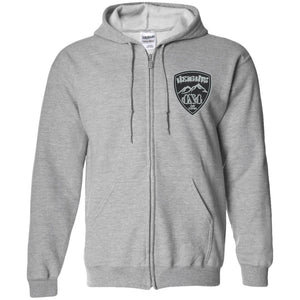Heights 4x4 embroidered logo G186 Gildan Zip Up Hooded Sweatshirt