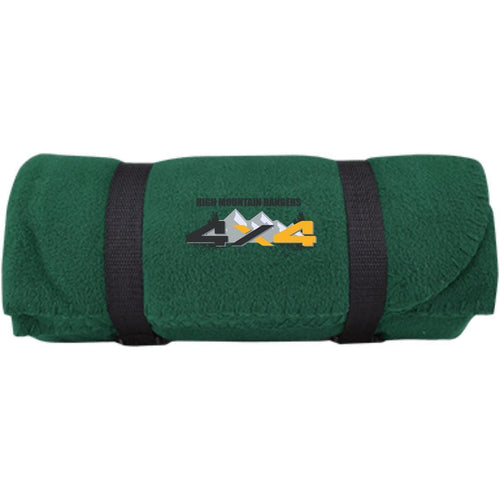 HMR embroidered logo BP10 Port & Co. Fleece Blanket