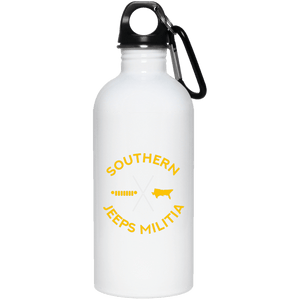 Southern Jeeps Militia 23663 20 oz. Stainless Steel Water Bottle