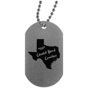 Coastal Bend Crawlers UN4004 Silver Dog Tag