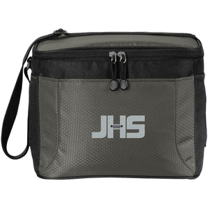 JHS silver embroidered logo BG513 12-Pack Cooler