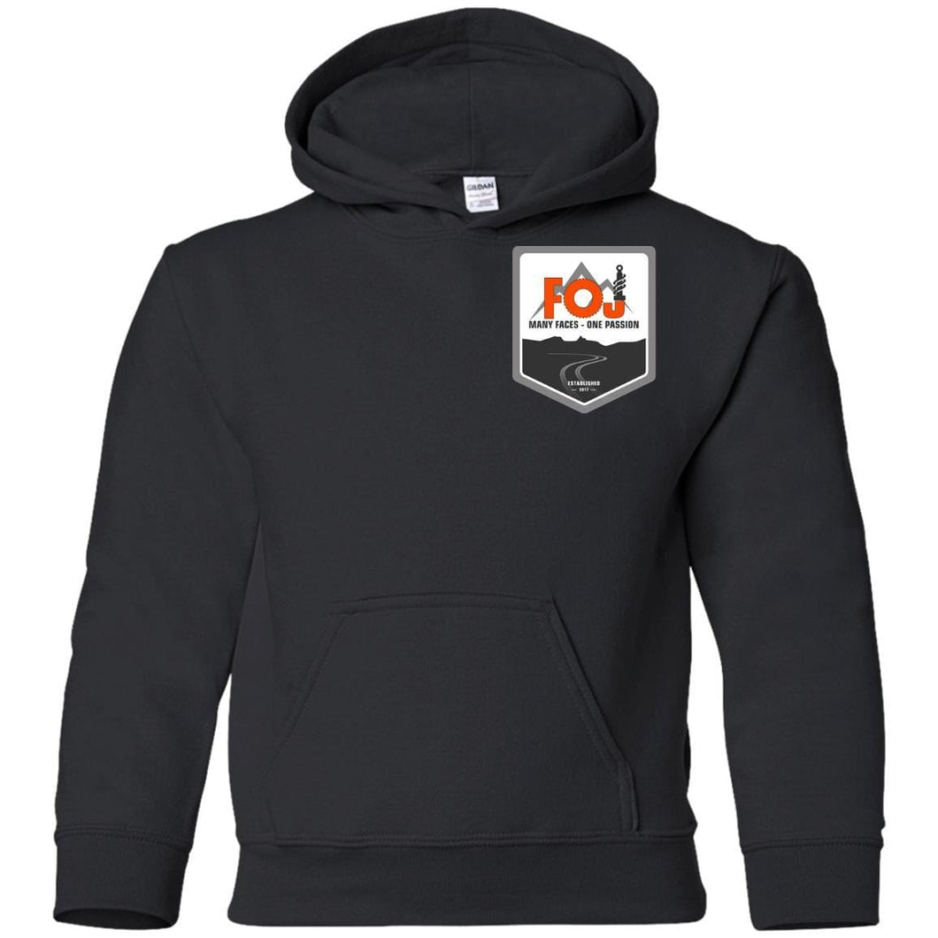 FOJ 2-sided print G185B Gildan Youth Pullover Hoodie