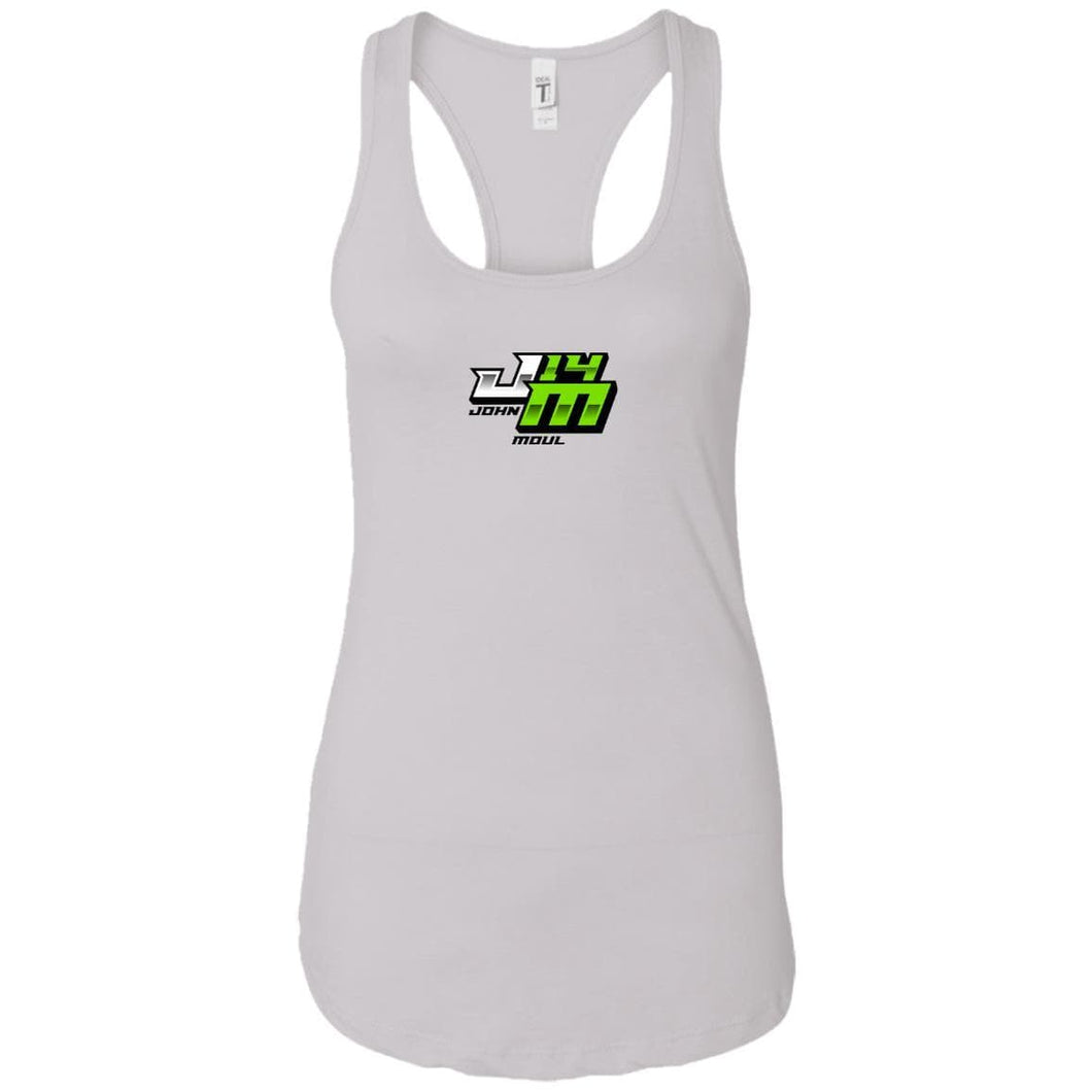 John Moul Racing NL1533 Next Level Ladies Ideal Racerback Tank