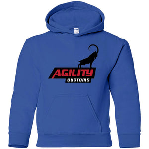 Agility Customs G185B Gildan Youth Pullover Hoodie