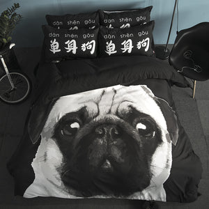 3D Pet Lovers Bedding Set