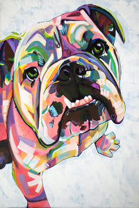 Extra Soft Extravagance Bulldog Beach Towel