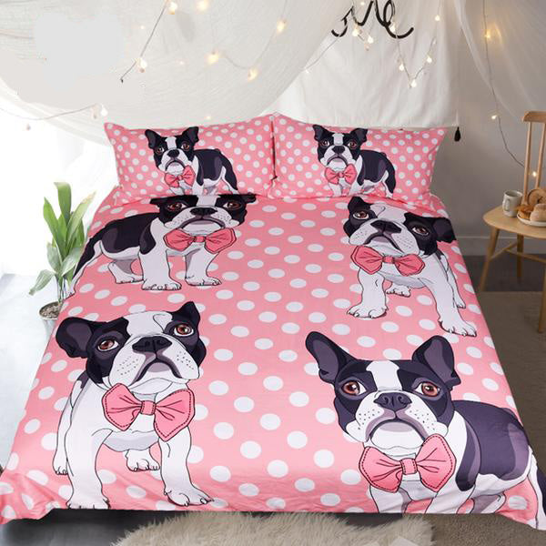 Hot Sale Bulldog Bedding Set