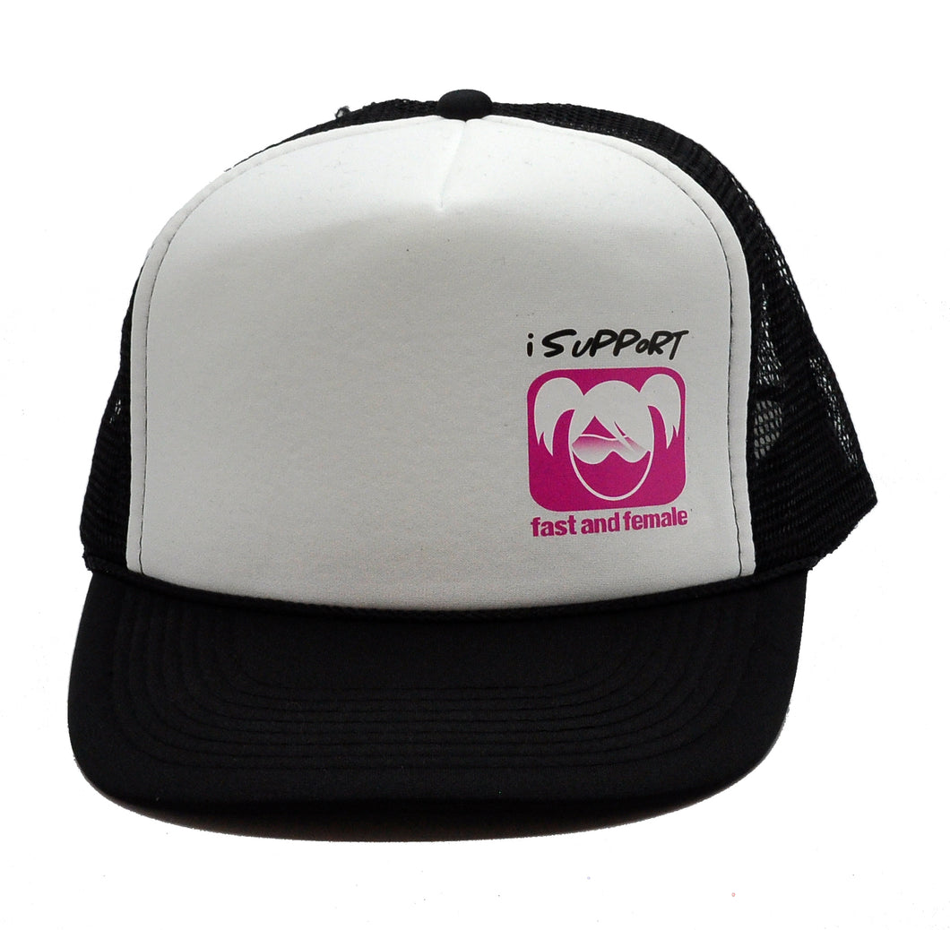 """I Support Fast & Female"" Trucker Hat"