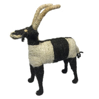 Sheep's Wool Goat Art Handmade African Ethiopian Children Toy Abyssinian Kiosk