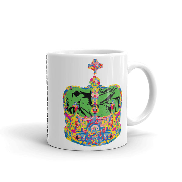 Supreme Green Crown Kaffa Mug