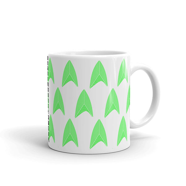 Sisko Kid II Green Patterned Kaffa Mug