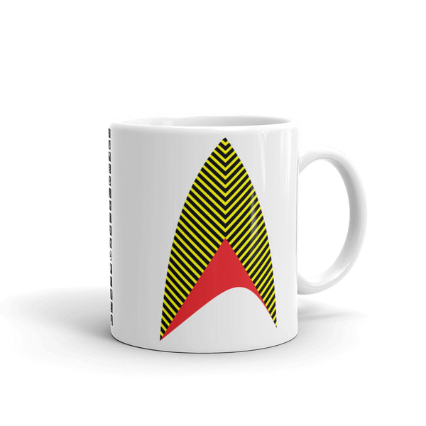 Sisko Kid Yellow Black Red Kaffa Mug