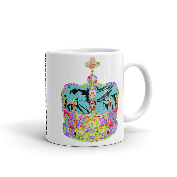 Supreme Light Blue Crown Kaffa Mug