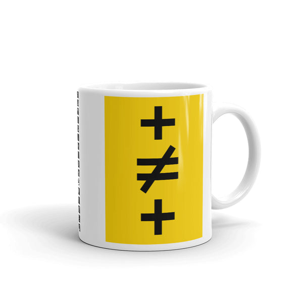 Crosses Not Made Equal Kaffa Mug
