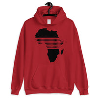 Africa Black Middle Dots Unisex Hoodie Abyssinian Kiosk Fashion Cotton Apparel Clothing Gildan Original Art