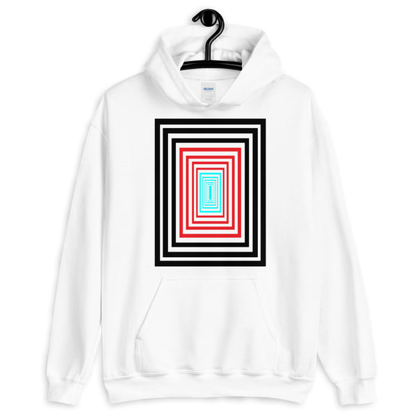 Infinity Black Red Cyan Unisex Hoodie Descent Abyssinian Kiosk Fashion Cotton Apparel Clothing Gildan Original Art