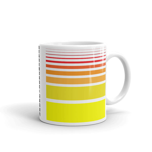 Red to Yellow Kaffa Mug