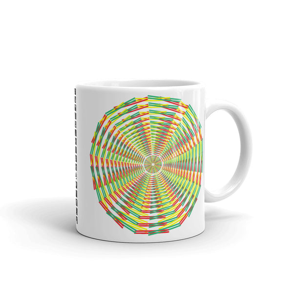 Green Yellow Red Siffate Kaffa Mug