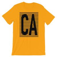 Black Grid CA Unisex T-Shirt
