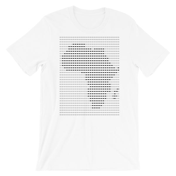 Africa Black Dashes Unisex T-Shirt Abyssinian Kiosk Scantron Map Bella Canvas Original Art Fashion Cotton Apparel Clothing
