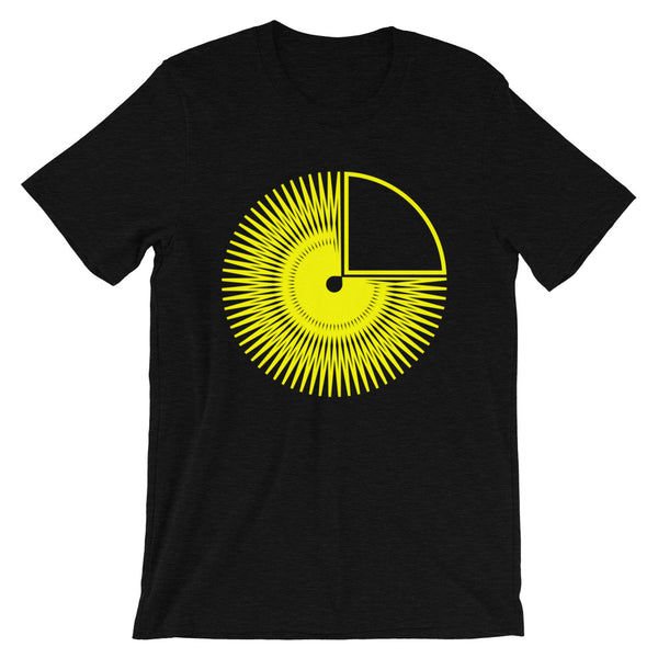 1/4 Hollow Yellow Star Unisex T-Shirt Abyssinian Kiosk Fashion Cotton Apparel Clothing Bella Canvas Original Art