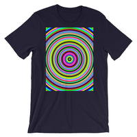 Jawbreaker 2 Unisex T-Shirt Trip Trippy Colorful Abyssinian Kiosk Psychedelic Candy Bella Canvas Original Art Fashion Cotton Apparel Clothing