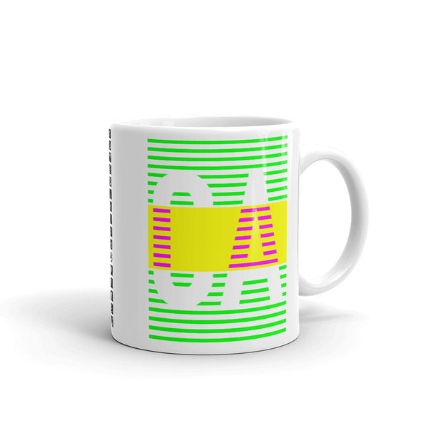 Green Yellow CA Kaffa Mug