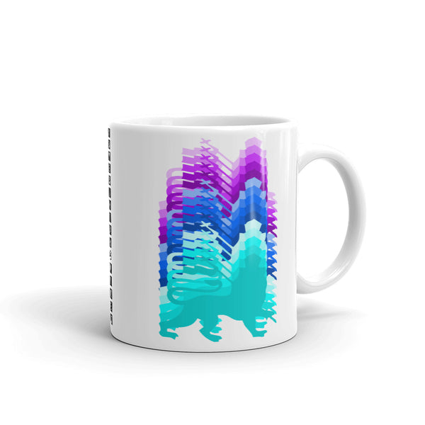 Inverted Gradient Lions Kaffa Mug
