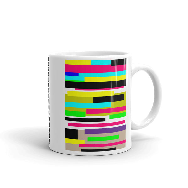 Color Bars Kaffa Mug