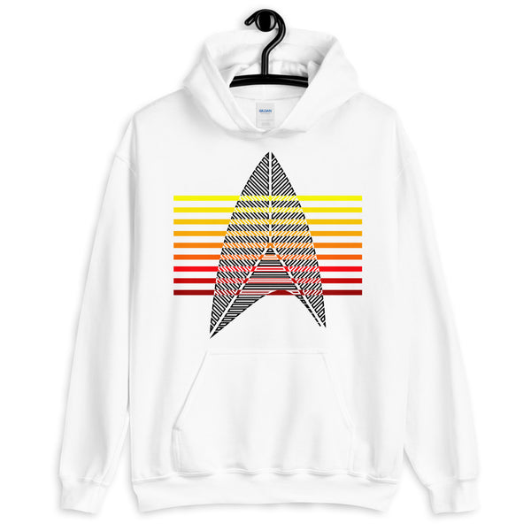 Sisko Kid II Black & Warm Bars Unisex Hoodie