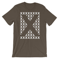 Blank X White X's Unisex T-Shirt Abyssinian Kiosk Fashion Cotton Apparel Clothing Bella Canvas Original Art