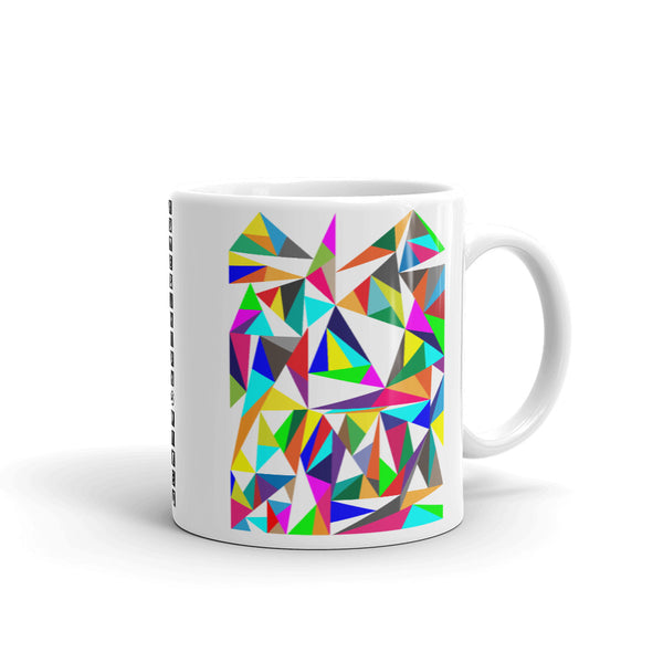 Color Triangles Kaffa Mug