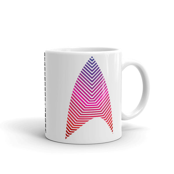 Sisko Kid Purple to Red Kaffa Mug