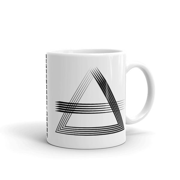 Black Triangles & Strikes Kaffa Mug