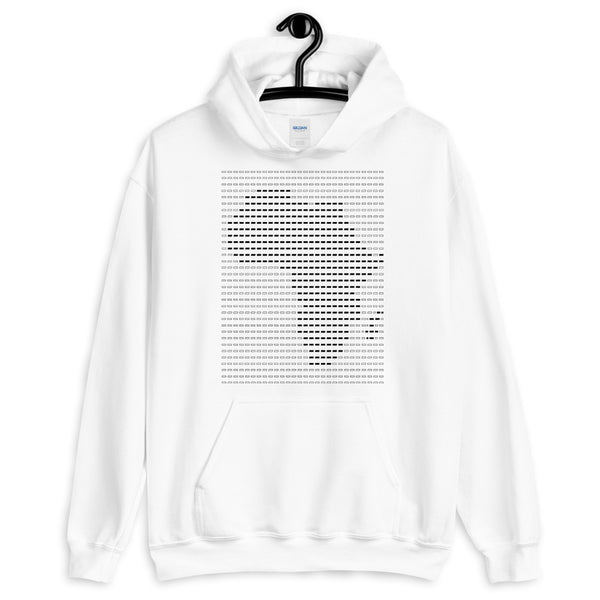 Africa Black Dashes Unisex Hoodie Abyssinian Kiosk Scantron Map Gildan Original Art Fashion Cotton Apparel Clothing