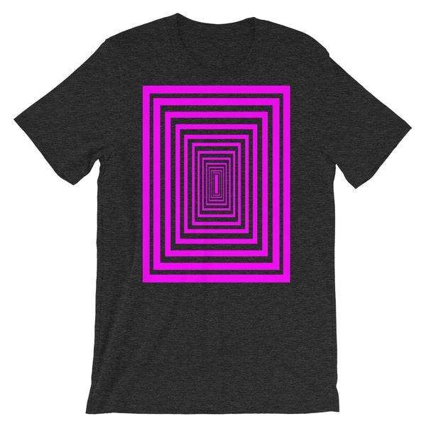 Infinity Magenta Unisex T-Shirt Descent Abyssinian Kiosk Fashion Cotton Apparel Clothing Bella Canvas Original Art