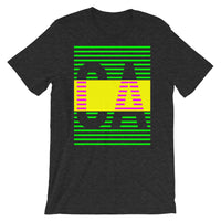 Green Yellow CA Unisex T-Shirt Abyssinian Kiosk Fashion Cotton Apparel Clothing Bella Canvas Original Art