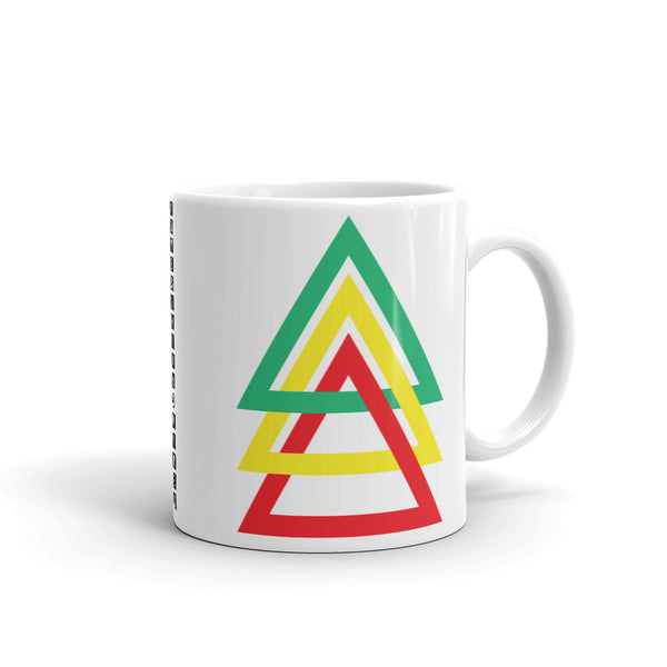 3 Triangles GYR Kaffa Mug