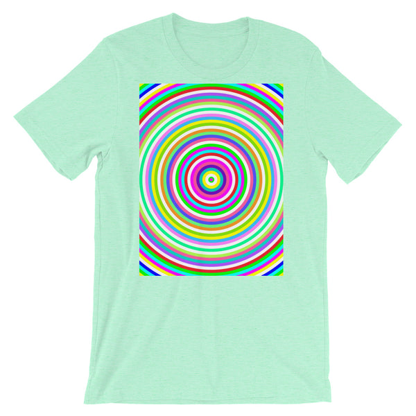 Jawbreaker Unisex T-Shirt Trip Trippy Colorful Abyssinian Kiosk Psychedelic Candy Bella Canvas Original Art Fashion Cotton Apparel Clothing